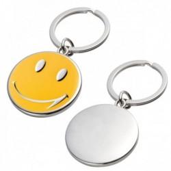 Brelok metalowy SMILE