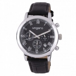 Chronograf Primo Leather Black