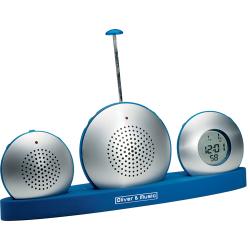 Dyktafon, radio, zegar Reath